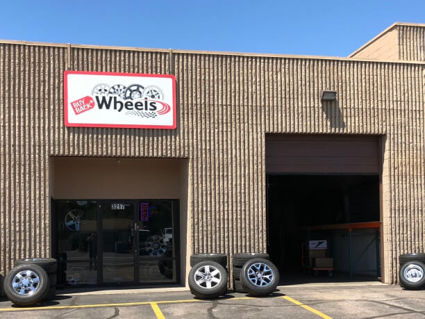 Buy Back Wheels storefront